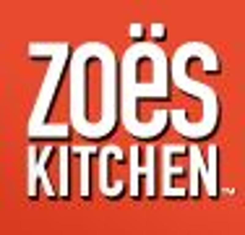Zoes Kitchen Coupons & Promo Codes